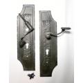 Kované dveřní kování C, Kovaná klika