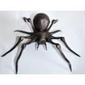 Kovaný pavouk, kovaná plastika pavouka
