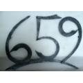 Kované číslo 659, trojčíslí