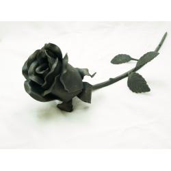 Kovaná růže 40 cm